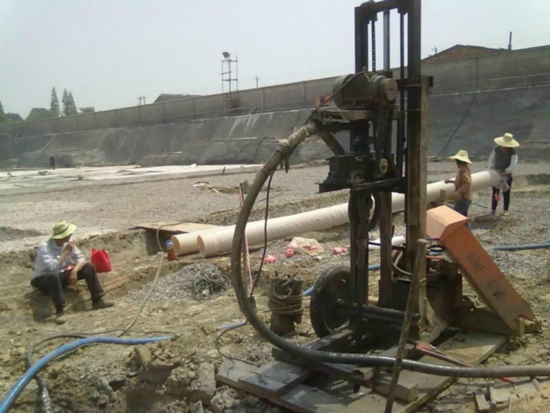 杭州地铁基坑隧道降水方案余杭三墩工地工程马路基坑隧道井点降水