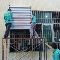 萧山水空调安装冷风机上出风下出风余杭冷风机湿帘墙安装维修