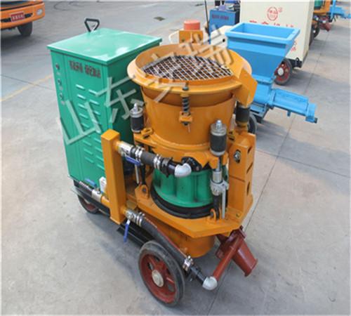 矿用PS-7i型湿式混凝土喷浆机使用发放