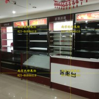 南京商超促销柜 地堆制作 产品包柱异形柜台制作