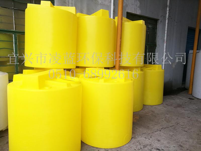 食品级加药搅拌桶 水处理耐酸碱pe加药箱 1000L加药桶