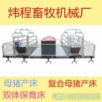 炜程畜牧母猪产床双体母猪产床复合母猪产床厂家直销