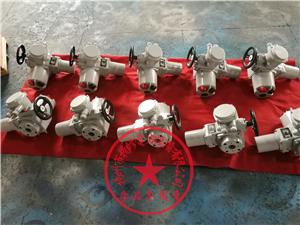 DQW20/DQW60部分回转电动头直连式配角行程电动阀