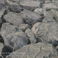 护坡防护网 护坡护岸石笼网卷 护坡护岸格宾网格宾垫