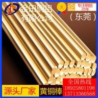 进口h85黄铜棒,h65易切削黄铜棒h59耐高温黄铜棒