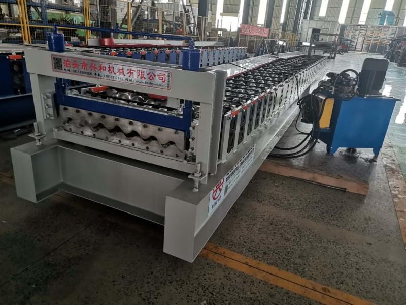 750墙面瓦机设备发往贵州 墙面横挂板现货价格