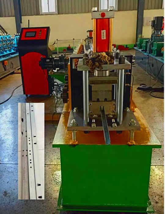 鸡笼骨架设备厂家兴和压瓦机 全自动立柱设备价格
