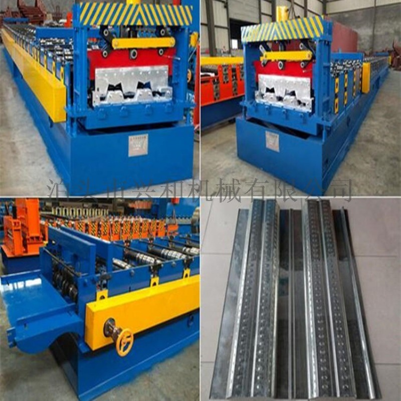750楼承板压瓦机现货厂家兴和  750压花楼板机价格