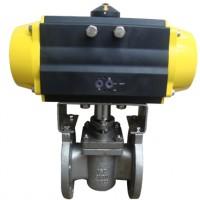 美标气动卡套式旋塞阀X641F-150LB
