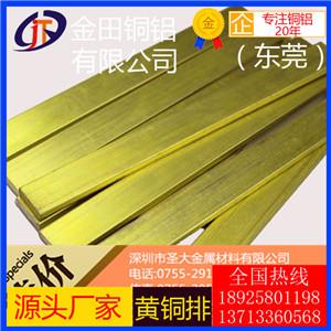 高导电h96黄铜排,h65耐腐蚀黄铜排h85宽幅黄铜排