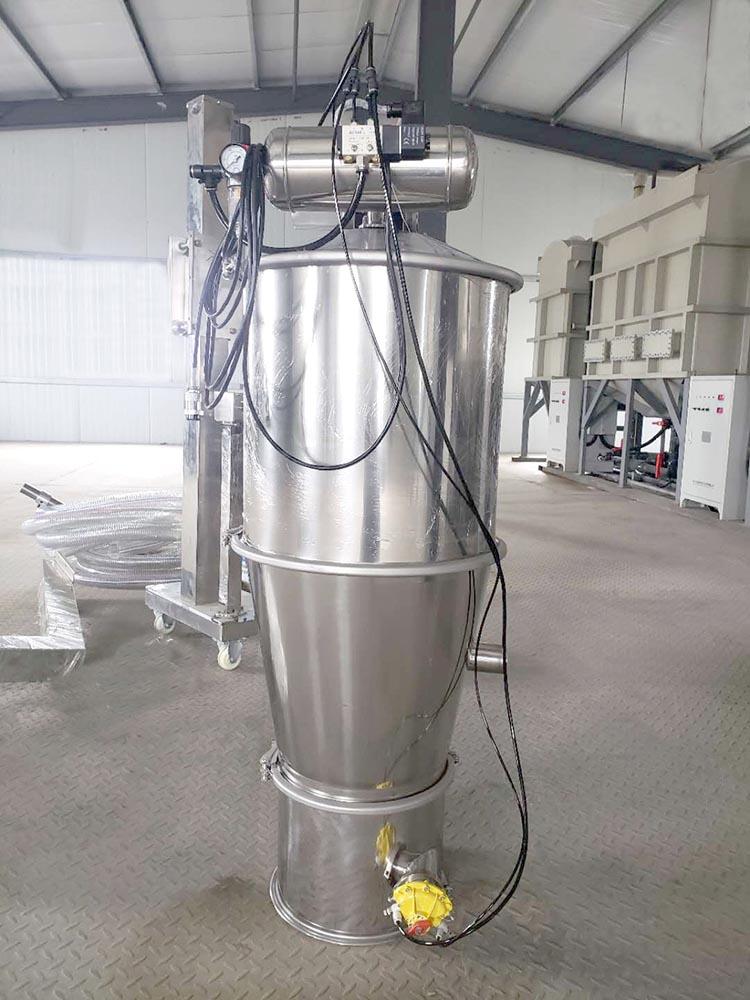 活性碳粉无尘无污染加料输送用真空上料机