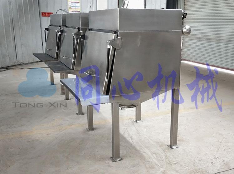 氯化钙无污染输送加料用无尘投料机