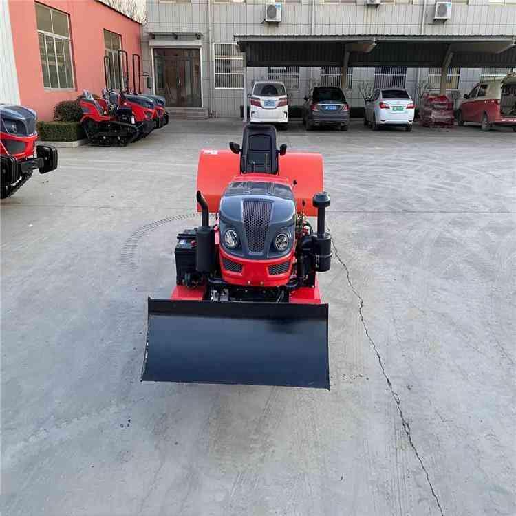 乘坐式履带旋耕机 乘坐式履带开沟机 一机多用小型旋耕机