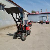 新型全电动装载铲车 小型工程转载机 养牛厂用铲粪铲车