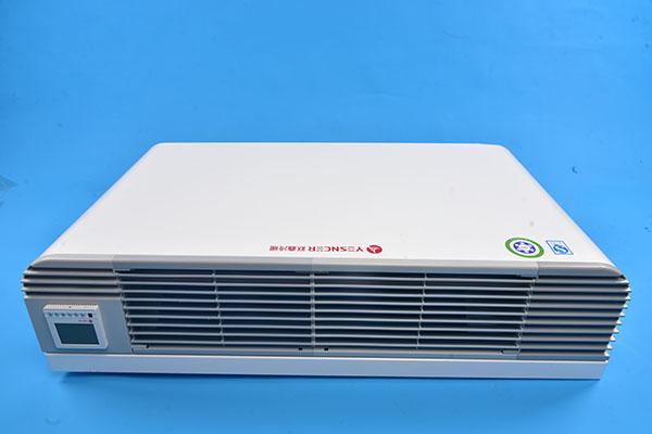 立式明装风机盘管保定跃鑫冷暖设备
