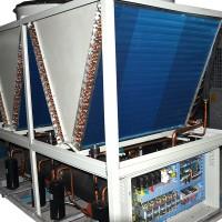 超低温空气源热泵机组在环境温度大幅下降时制热量衰减极小